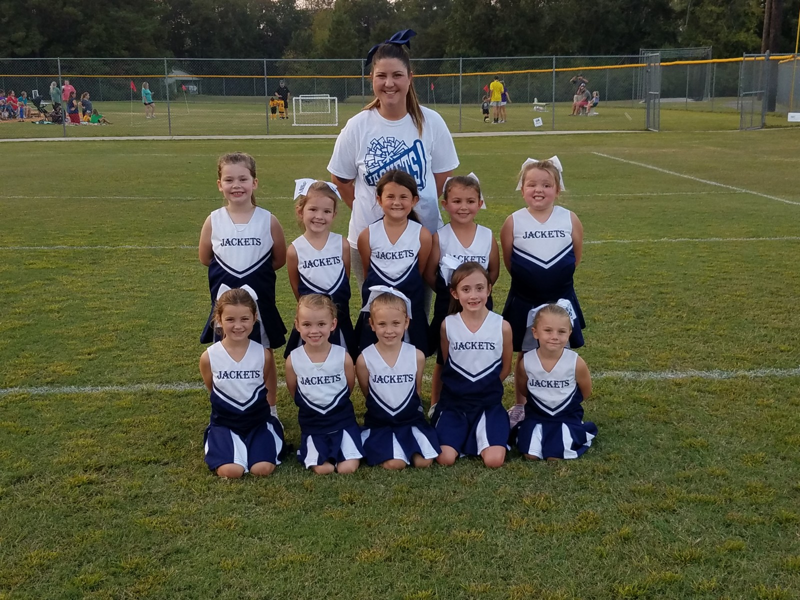 6u Blue Jackets Cheer Hodges