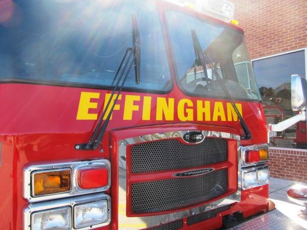 Effingham County Fire Truck